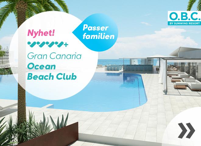 Nye Ocean Beach Club på Gran Canaria