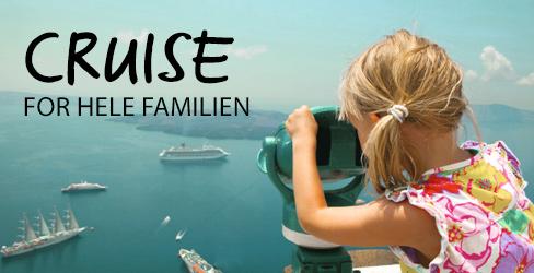 Familievennlige cruise i sommer