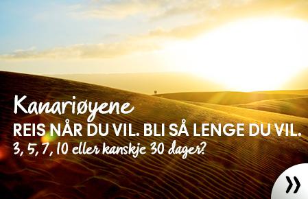 Vinterens guide til Kanariøyene