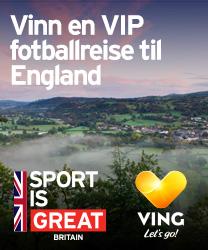 Vinn en VIP fotballreise til England
