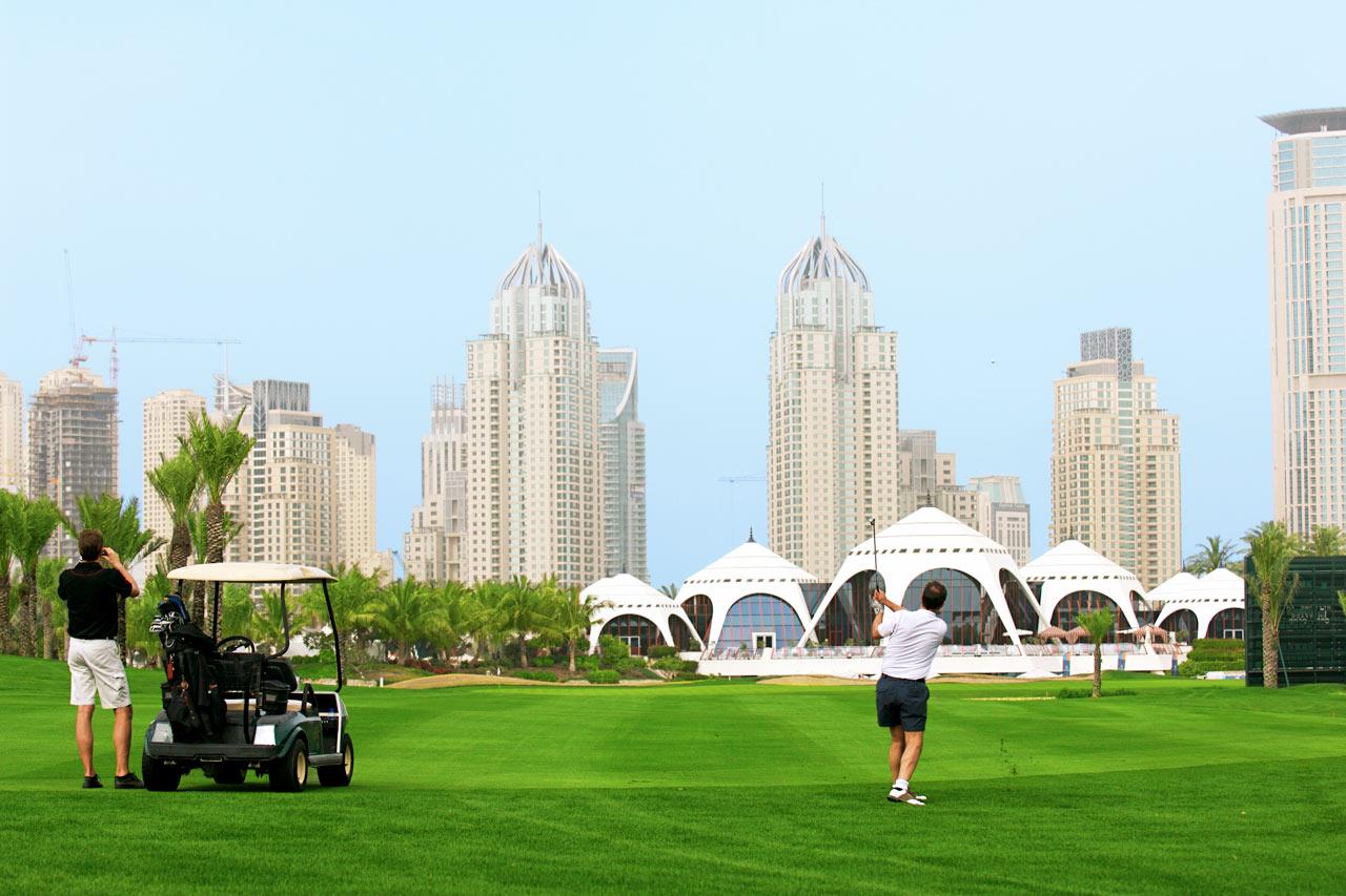De forente arabiske emirater - Emirates Golf Club, Jumeirah