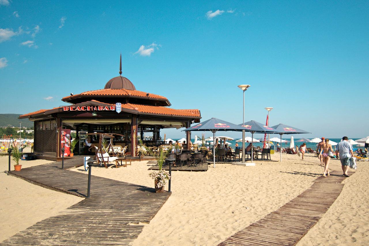 Bulgaria - Stranden i Sunny Beach