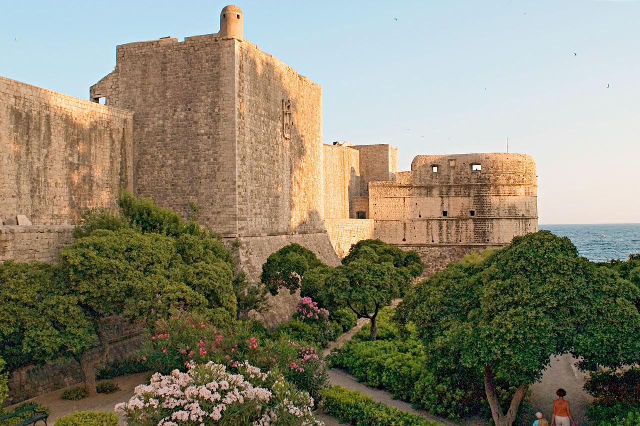 Kroatia - Gamlebyen i Dubrovnik