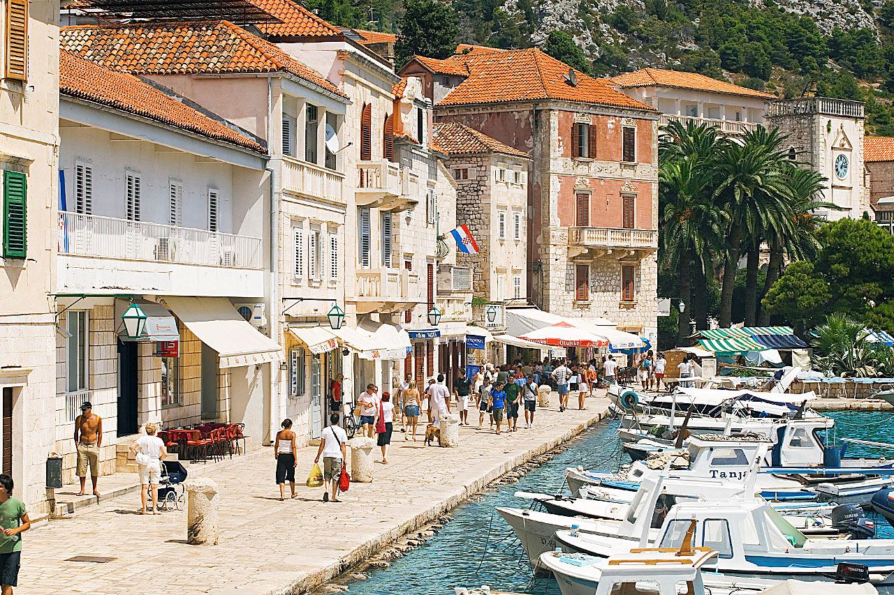 Kroatia - Hvar by