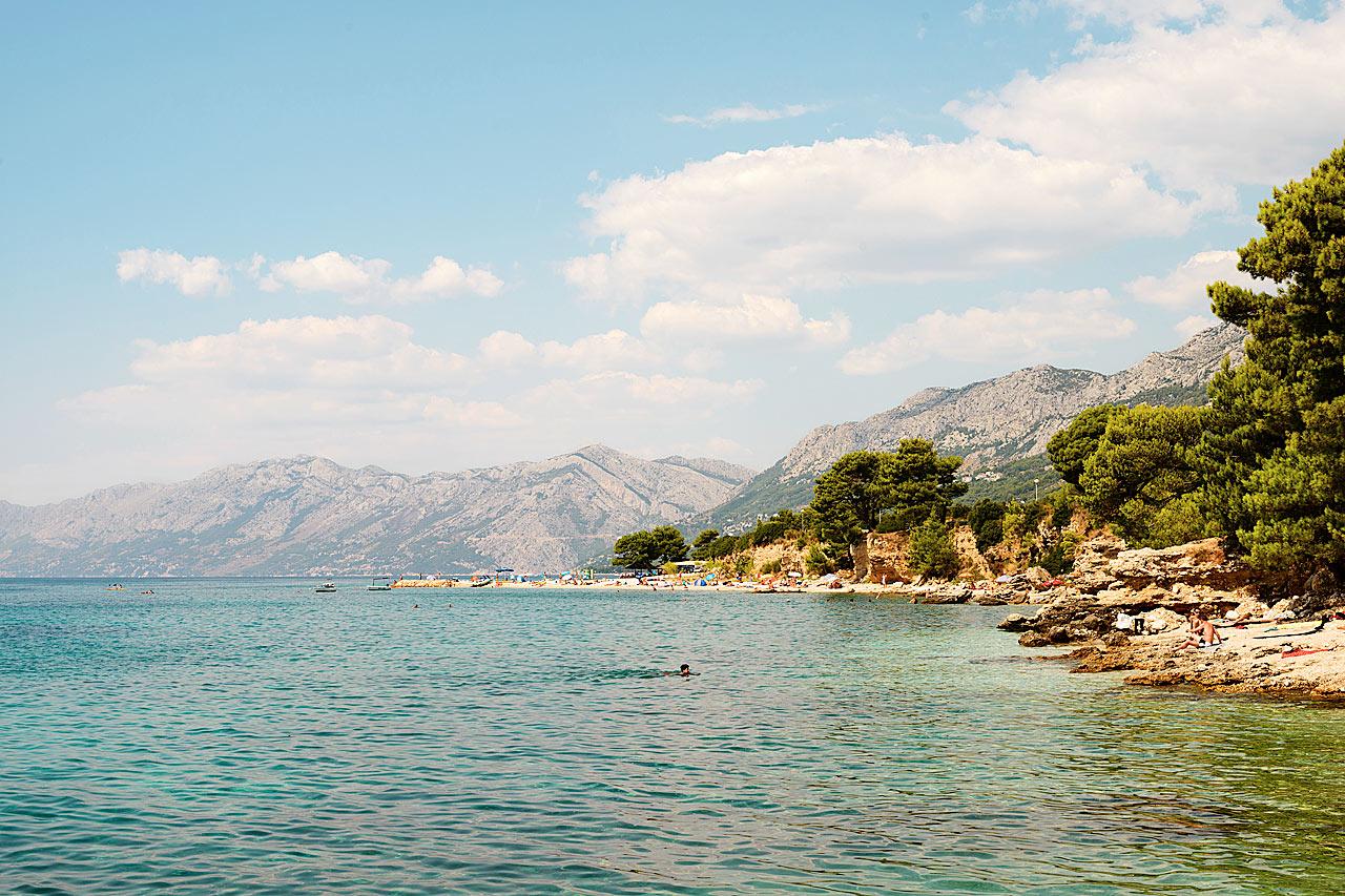 Kroatia - Baska Voda, Makarska-rivieraen