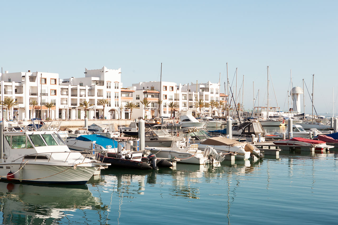 Marokko - Havnen i Agadir