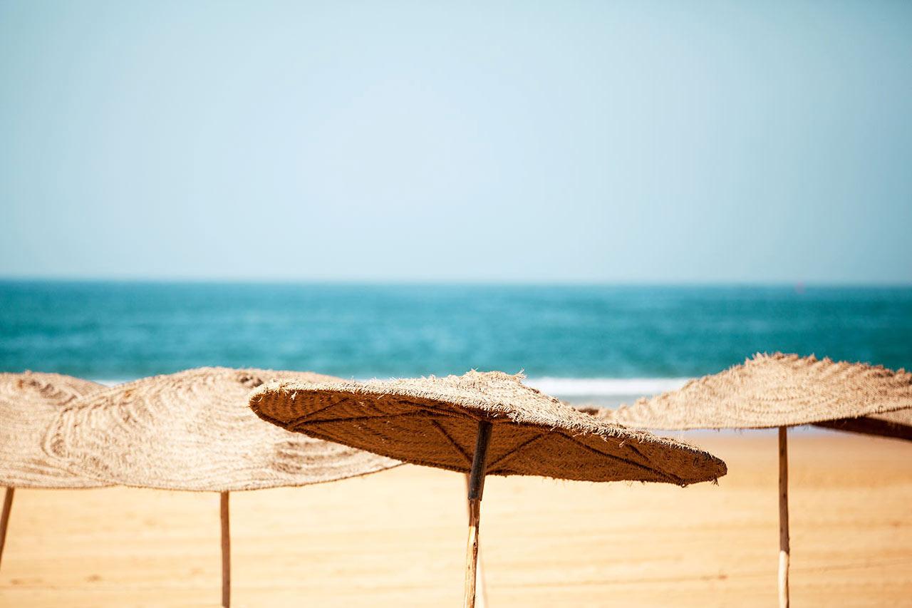 Marokko - Stranden i Agadir.