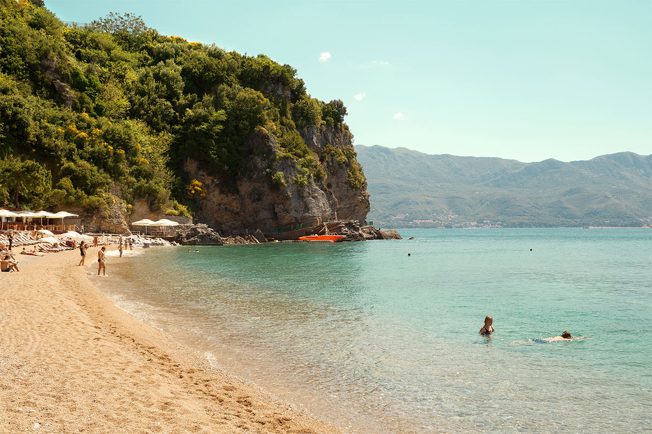 Montenegro - Mogren Beach, Budva