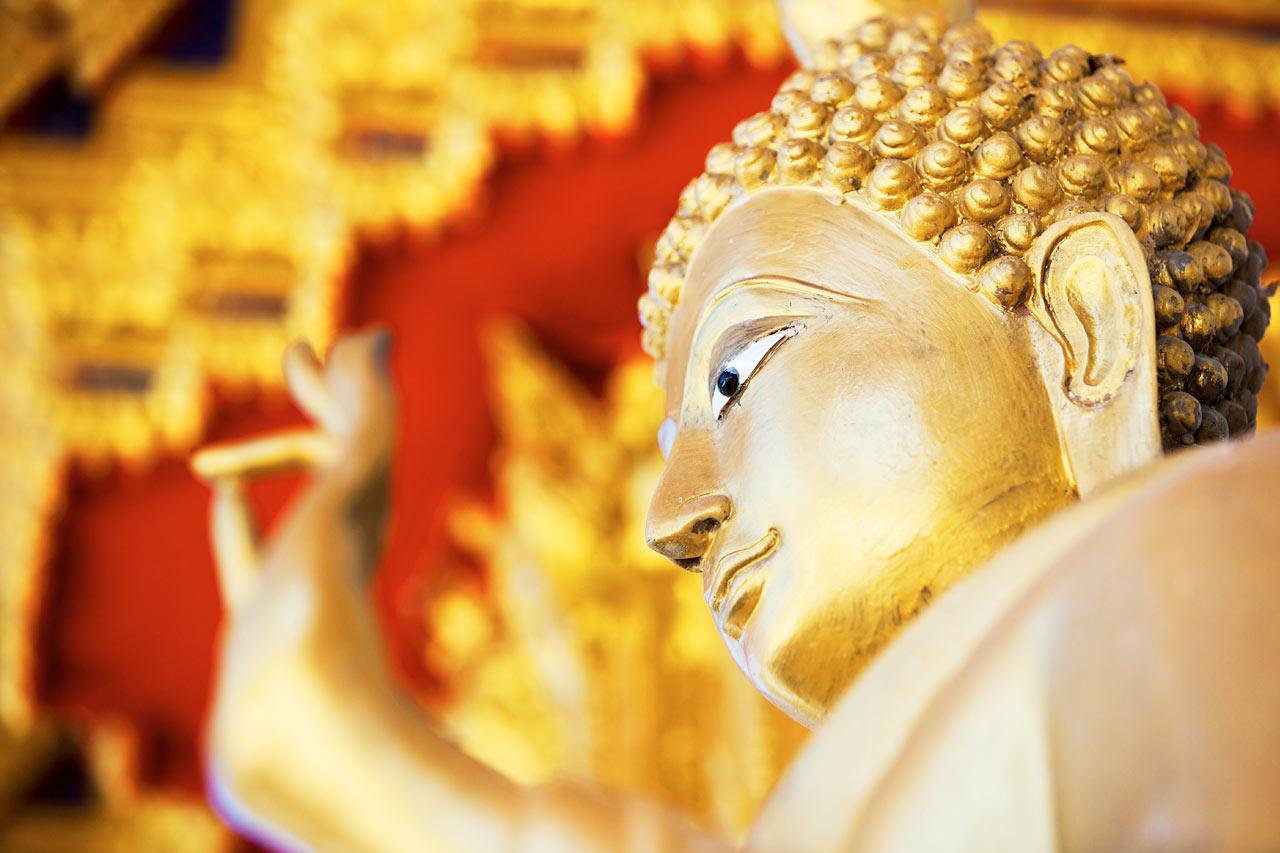 Thailand - Khao Lak, Wat Laek Kaen-tempelet