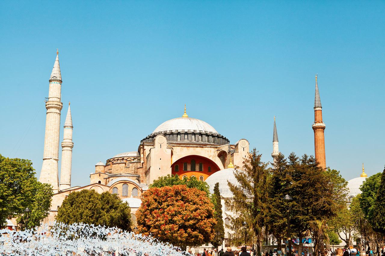 Tyrkia - Hagia Sofia, Istanbul