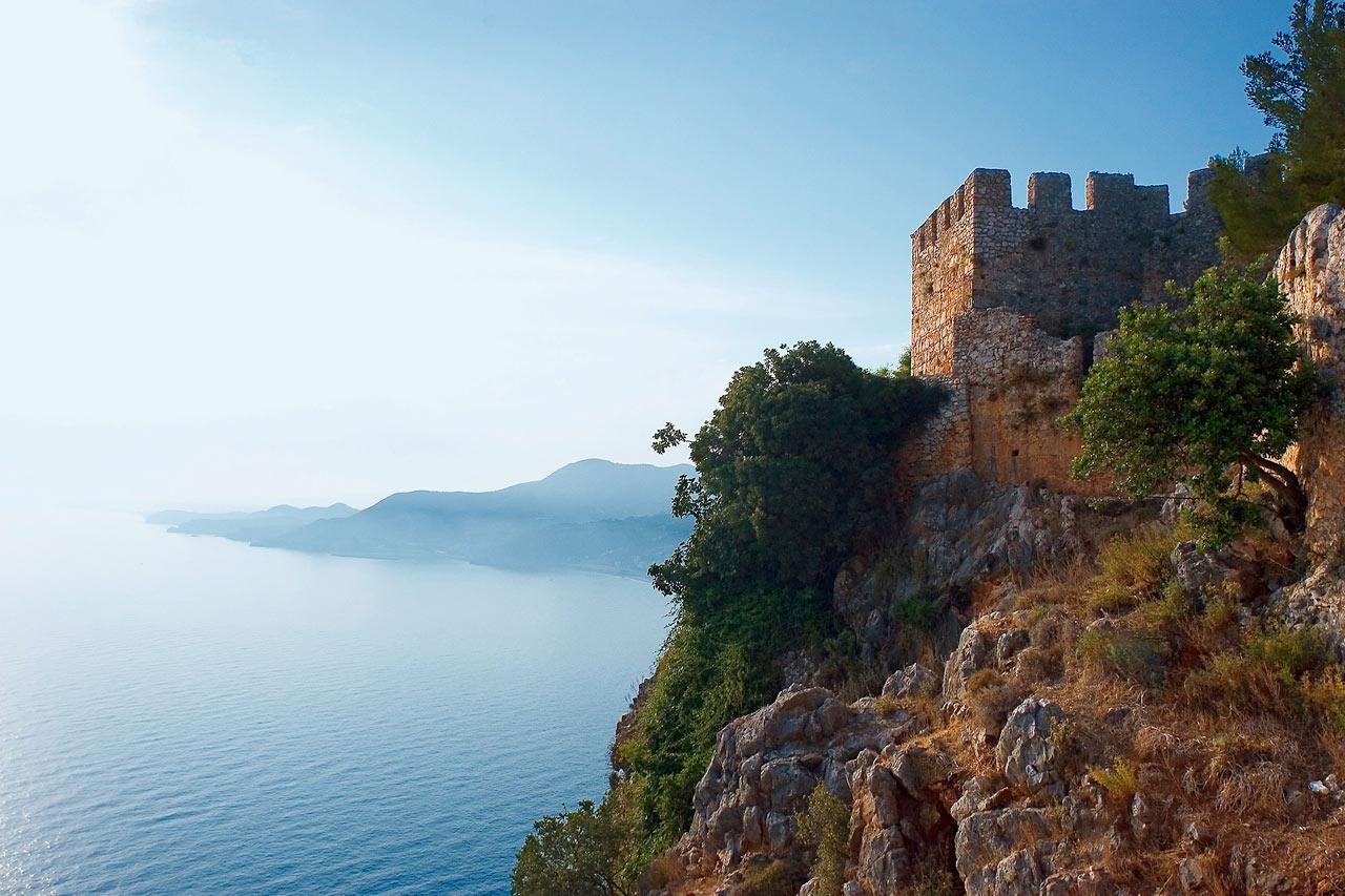 Tyrkia - Borgen i Alanya