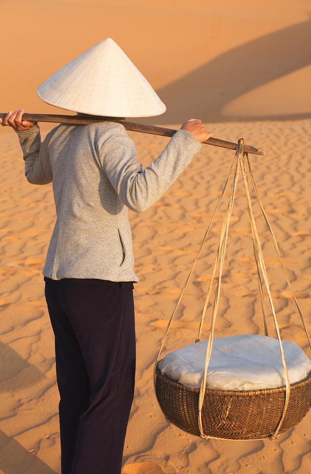Vietnam - Røde sanddyner - Mui ne i Phan Thiet, Vietnam.