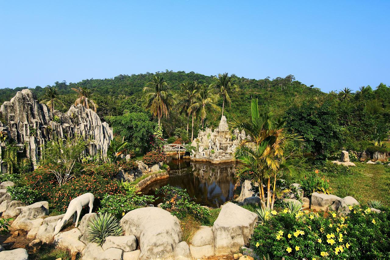 Vietnam - Varme kilder på øya Suoi Chanh Phu Quoc, Vietnam