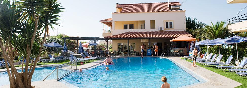 Blue Sky, Chaniakysten, Agia Marina, Kreta, Hellas