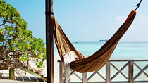 Komandoo Island Resort & Spa er et hotell for voksne.