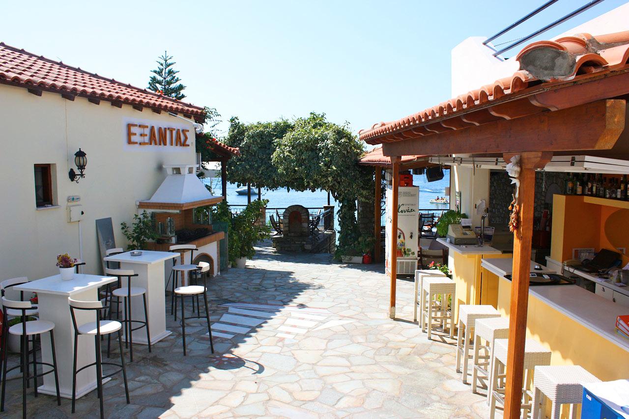 Hotellets bar og restaurant