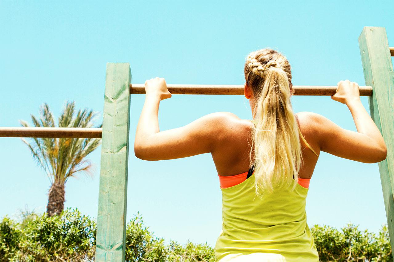 Sunwing Sandy Bay Beach - Sunwing Sandy Bay Beach kan du styrketrene under åpen himmel.