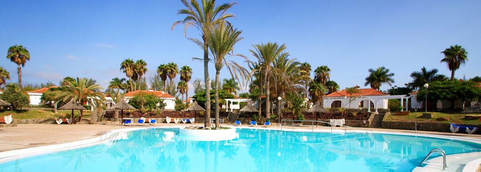 Bungalows Parque Golf, Maspalomas, Gran Canaria, Kanariøyene