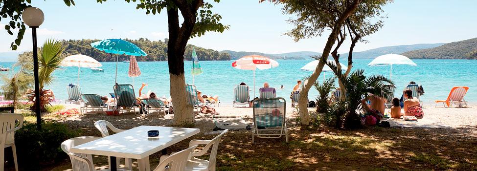 Avra Beach, Nidri, Lefkas, Hellas