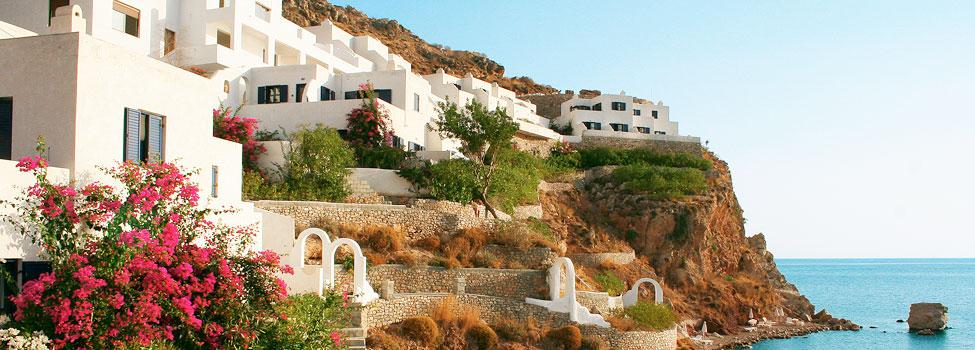 Ilidi Rock Beach, Livadia, Tilos, Hellas