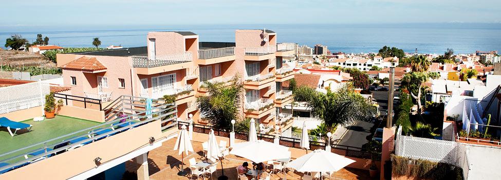 Hotel Acuario, Puerto de la Cruz, Tenerife, Kanariøyene