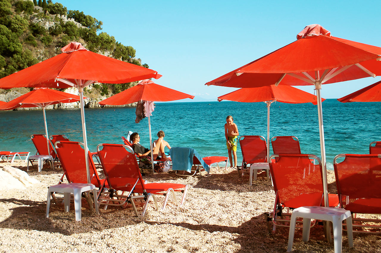 Parga - Valtos Beach