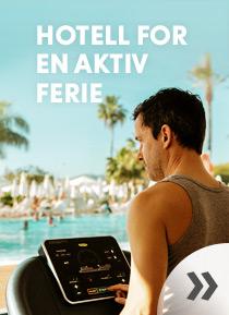 Hotell for en aktiv ferie