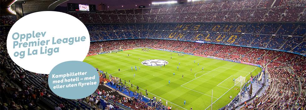 Fotballreiser med Ving