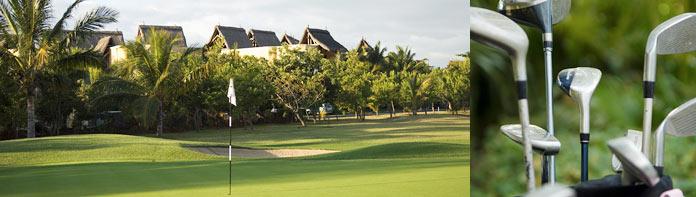 Bo rett ved golfbanen