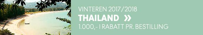 Tilbud til Thailand neste vinter