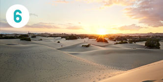 Sanddynene i Maspalomas, Gran Canaria