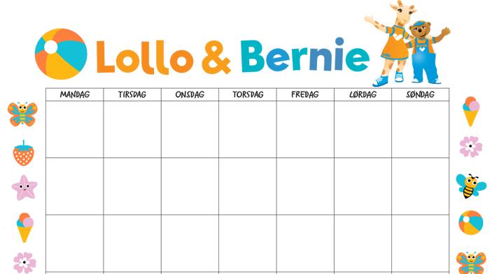 Nedtelling til ferien med Lollo & Bernie