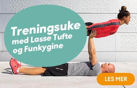 treningsuke med Funkygine og Lasse Tufte