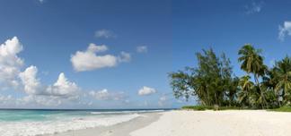 Barbados i vinter