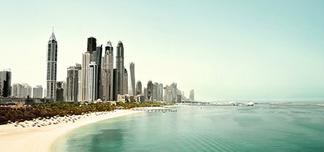 Dubai i vinter