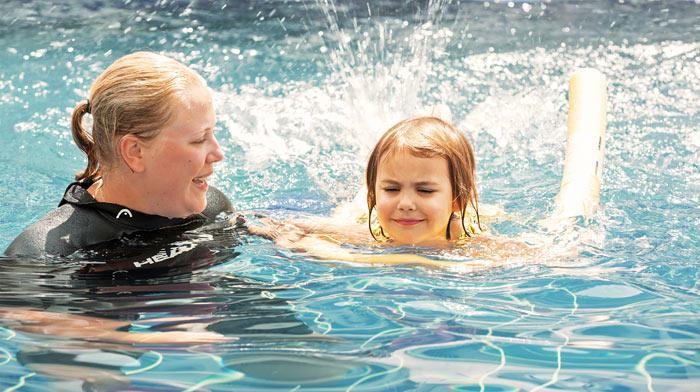 Privat svømmelærer, fra 4 år