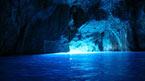 Den blå grotten og øya Vis